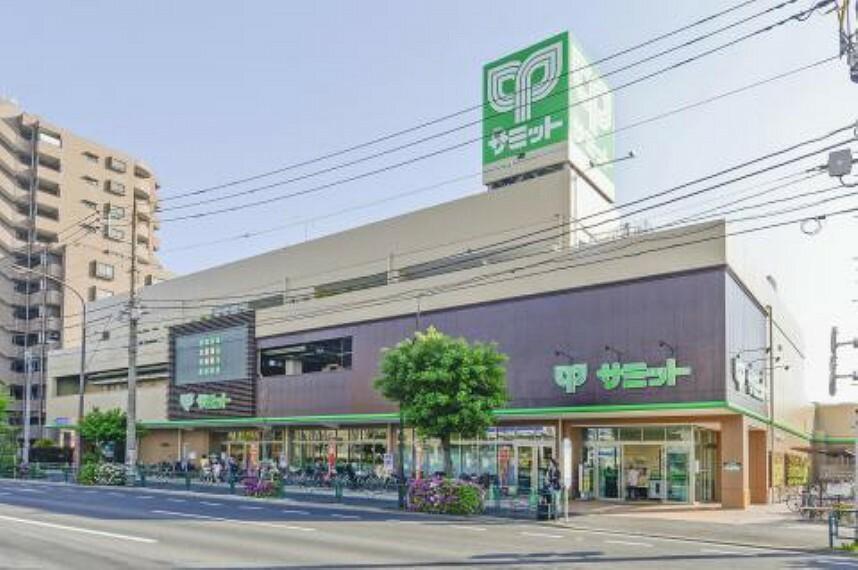 スーパー 【スーパー】サミットストア野沢龍雲寺店まで376m