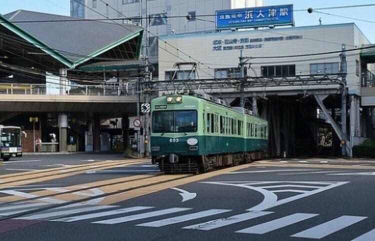 びわ湖浜大津駅(京阪 石山坂本線)
