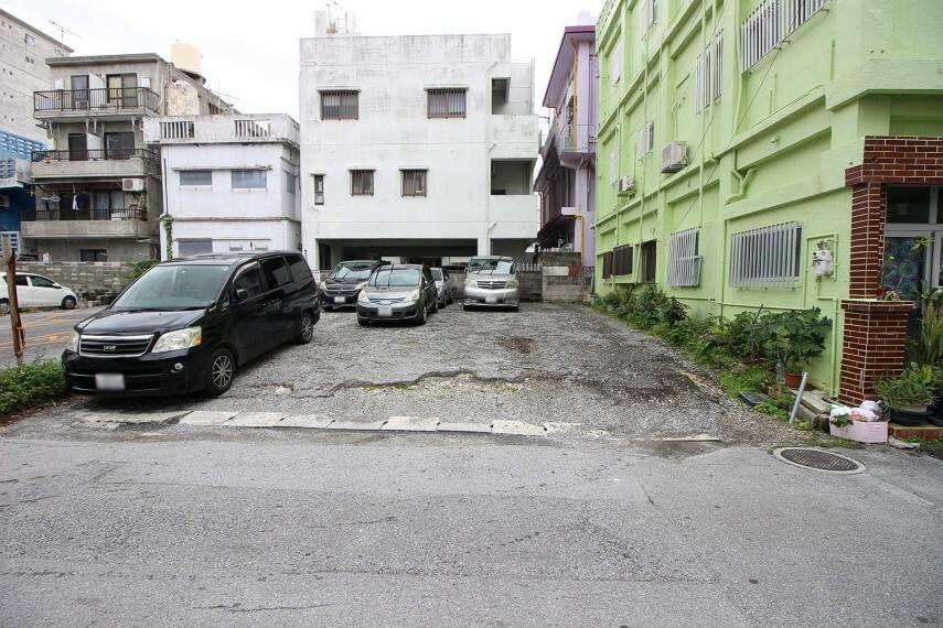 現況写真 【136平米】現状120,000円/月で駐車場として賃貸中!建築条件なし!西町りうぼうまで約350m