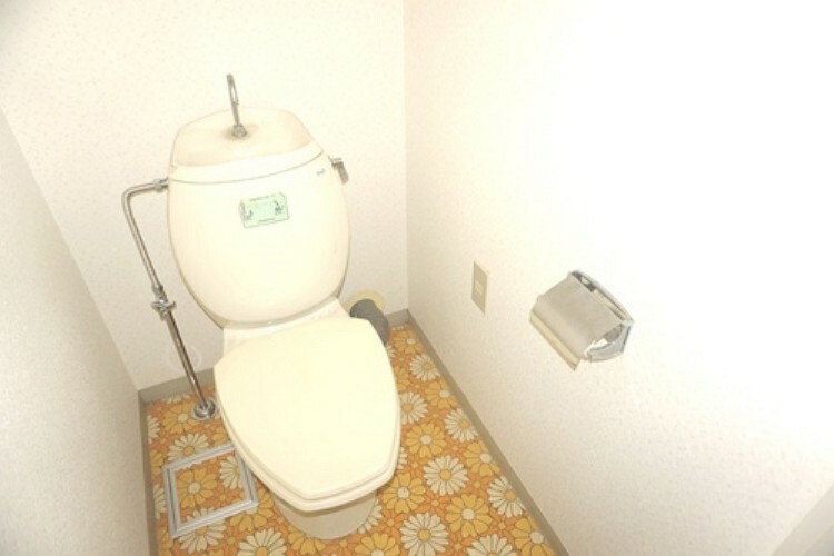 トイレ 清潔感のあるトイレです。