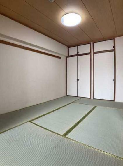 和室 LDKに面した和室6畳!押入収納付!