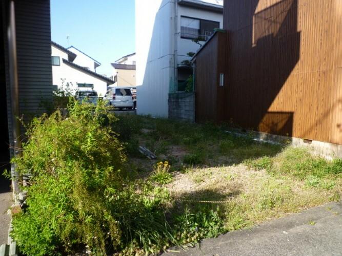 現況写真 建築条件無しなので、思いのままの家作りができます。