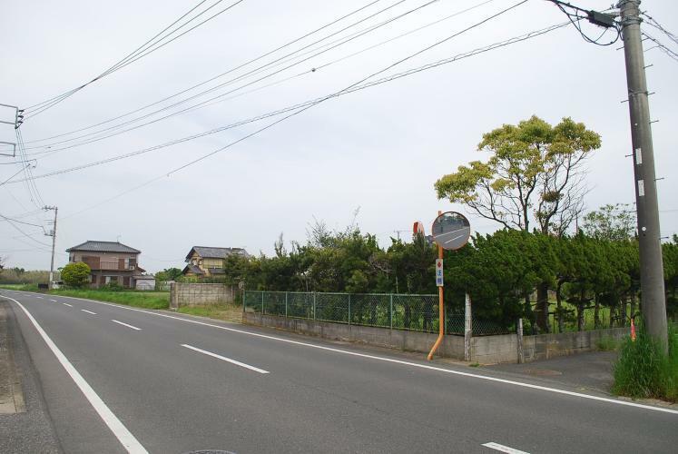 現況写真 県道北方向
