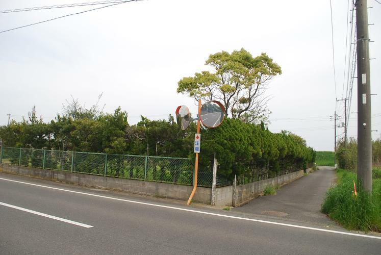 現況写真 公道の角地