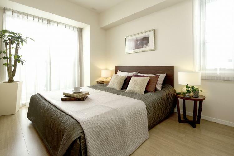 主寝室 (新築時施工例写真の為、現況とは異なります)