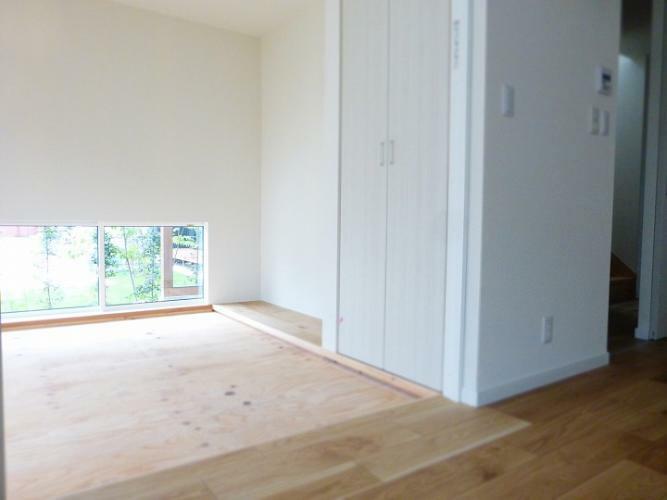 和室 4.5帖 入居時に畳が設置されます。