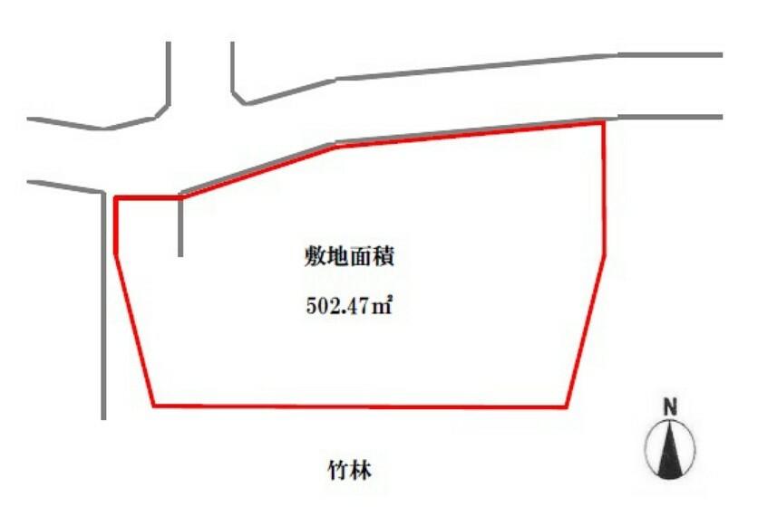 土地図面 玉川小学校/勝立中学校。