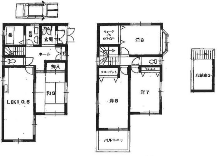 間取り図 全室2面採光 角地の明るい住居です。 ご見学 お気軽にお問い合わせください。