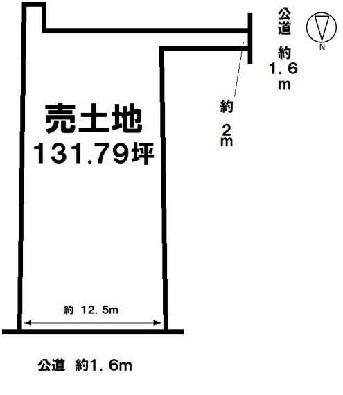 土地図面 【駅が近く便利な立地】特急停車の名鉄河和線「富貴駅」まで徒歩4分 まずは資料請求からハウスドゥ半田までお気軽にお問い合わせください