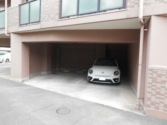 駐車場 抽選になります。