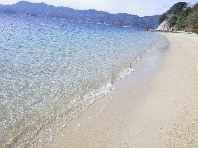 現況写真 笠佐島周辺ビーチ