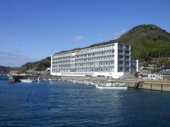 現況写真 町立大島病院