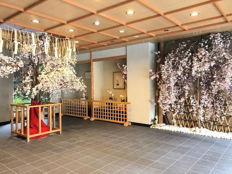 外観・現況 祇園祭のハイライト、山鉾巡行に「黒主山」の山鉾で参加します。