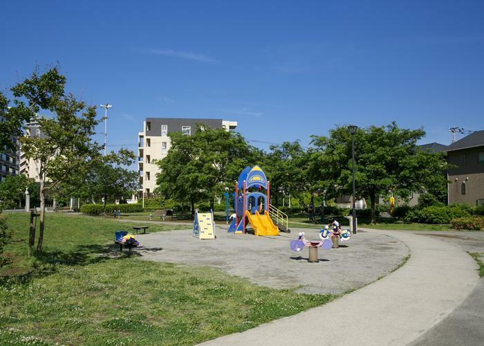 公園 戸神台西街区公園(約200m・徒歩3分)