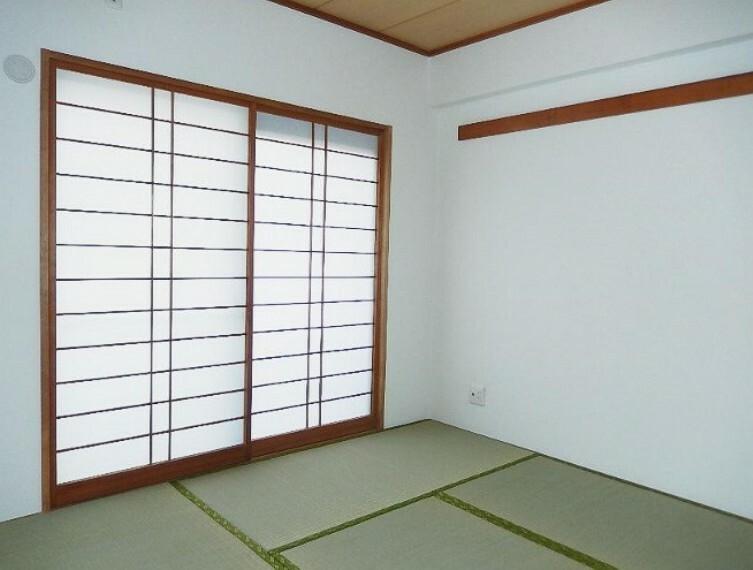 LD横の和室です。客間としても利用できます。