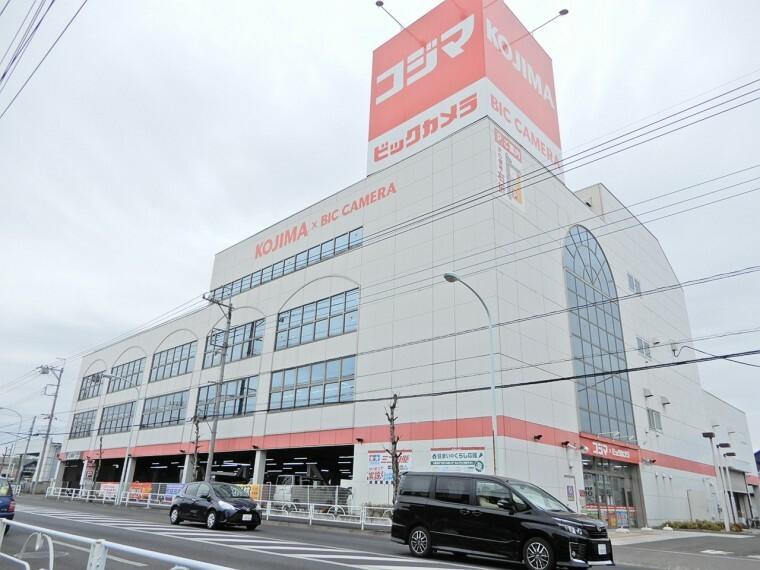 ショッピングセンター コジマ×ビックカメラ東大和店、営業時間10時~21時まで。駐車場152台無料で駐車可能で広いので利用しやすい点も魅力。電化製品以外にも、おもちゃやゲーム用品なども販売している。