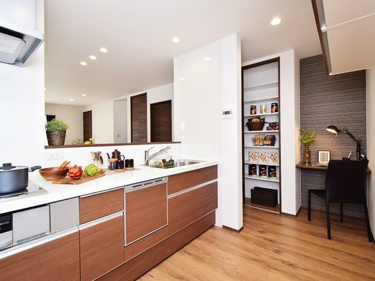 キッチン 【ZEH+IOT仕様付】20号地モデルハウス