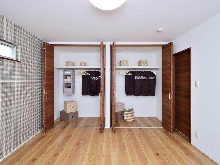 寝室 【ZEH+リチウムイオン蓄電池付】I-17号地モデルハウス