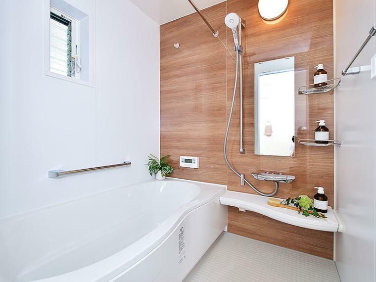 浴室 【ZEH+リチウムイオン蓄電池付】I-17号地モデルハウス