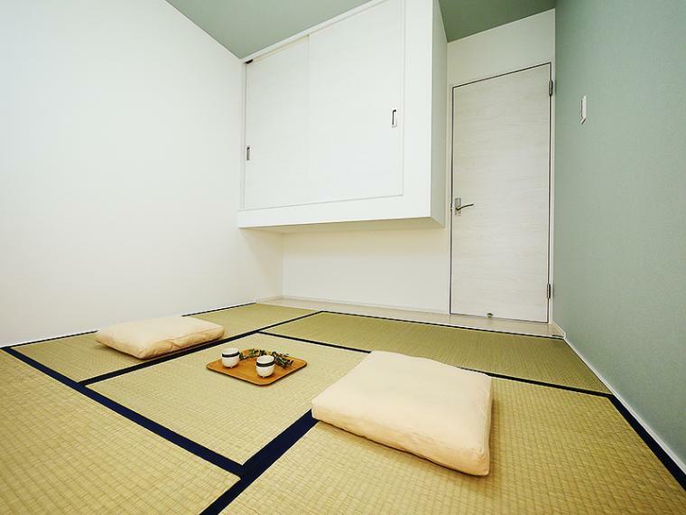 和室 【ZEH仕様+IOT仕様付】8号地モデルハウス 和室