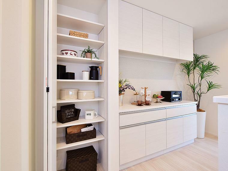 キッチン 【ZEH+IOT住宅仕様付】II-4号地モデルハウス