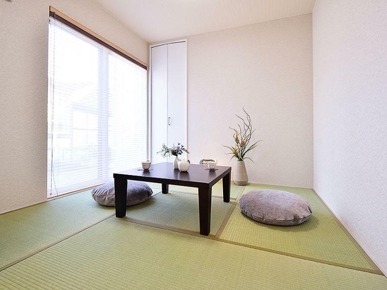 和室 【ZEH+IOT住宅仕様付】II-4号地モデルハウス