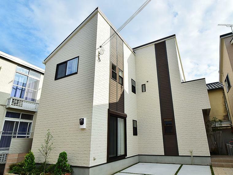 現況外観写真 【ZEH仕様+IOT仕様付】2号地モデルハウス 総額3,192万円(消費税込、がい外構、植栽、ガーデニング付)