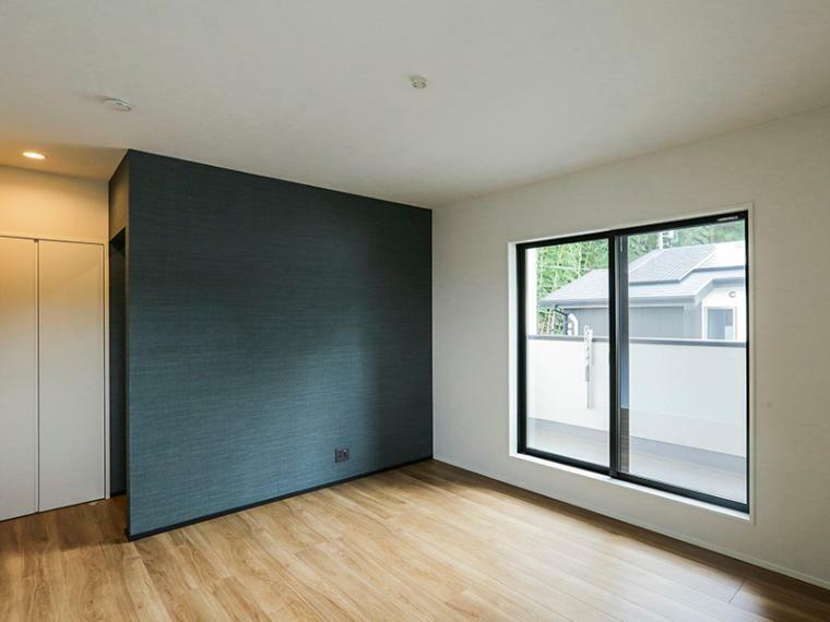 寝室 全室2面採光で日当たり・風通し良好です。(A-5号棟)