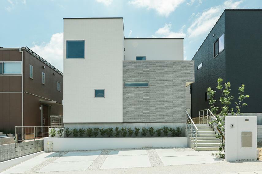 現況外観写真 B19-7号棟「通り土間のある家」