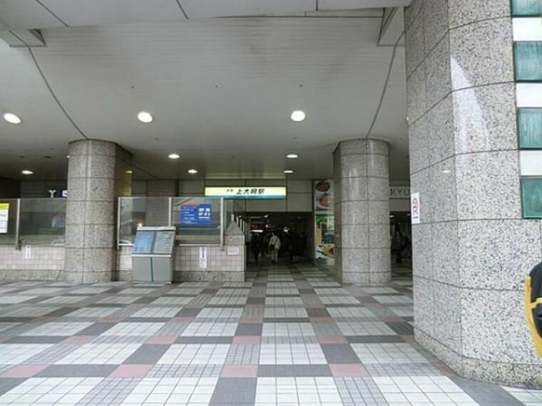 上大岡駅 2700m