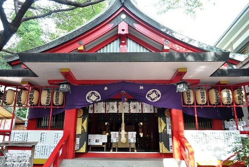 【寺院・神社】春日神社まで852m