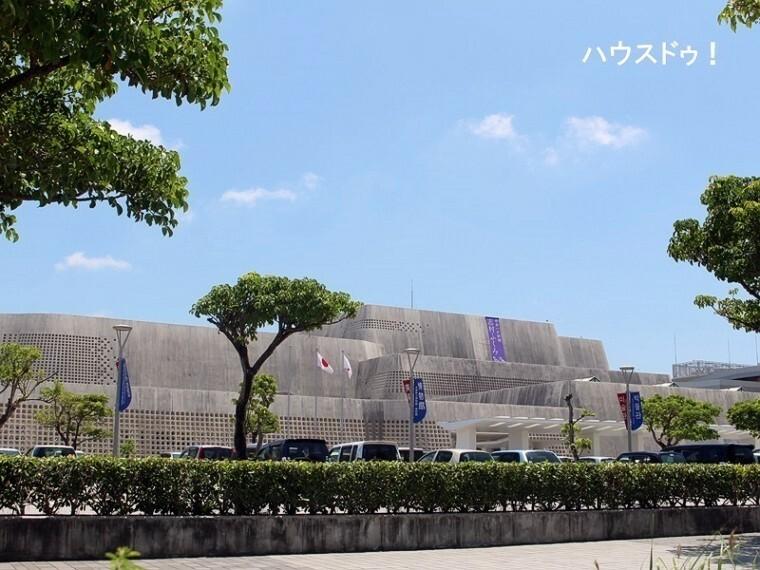 周辺の街並み 沖縄県立博物館美術館