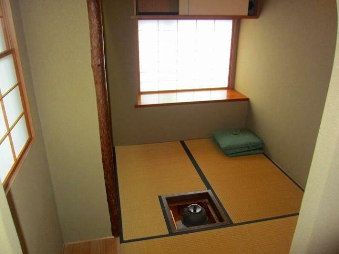 和室 茶室があります