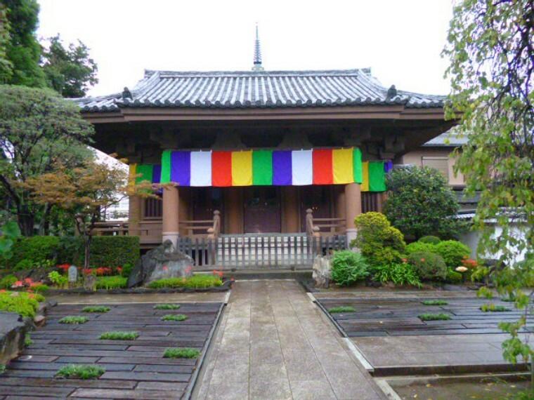 【寺院・神社】金剛院まで1115m