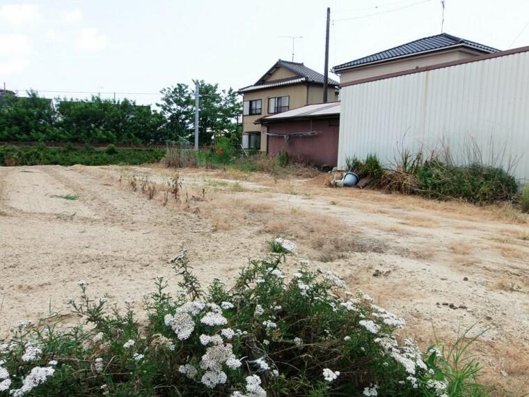 外観・現況 キャッチボールやバーベキューも楽しめるお庭が設けられるゆとりの広さ