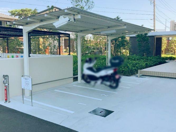駐輪場 バイク置き場もございます。