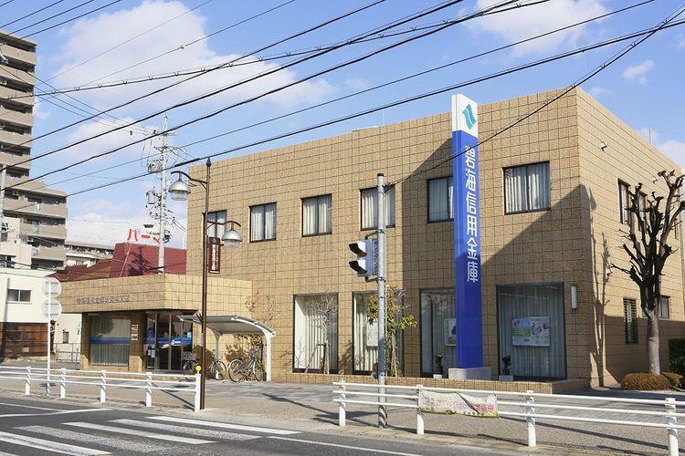 銀行 碧海信用金庫新安城支店 徒歩6分。