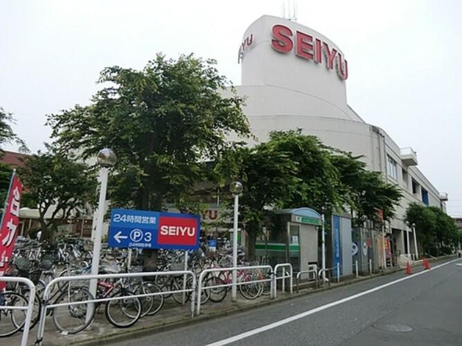 スーパー 西友河辺店 徒歩18分(約1400m)