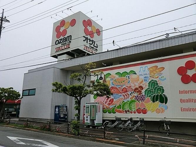 ショッピングセンター オザムバリュー野上店 徒歩17分(約1300m)