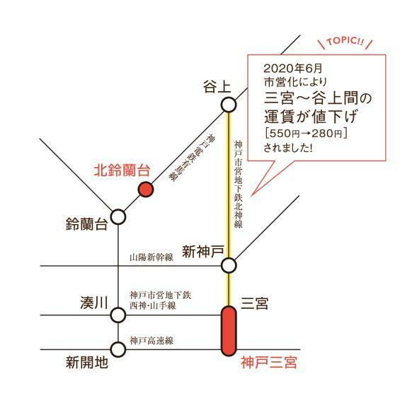 区画図 交通図