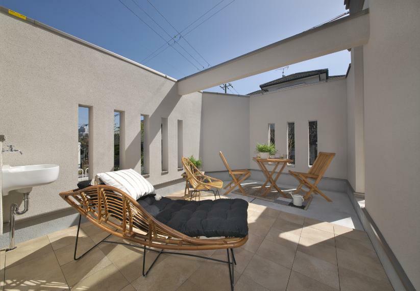バルコニー モデルハウス ガーデンテラス