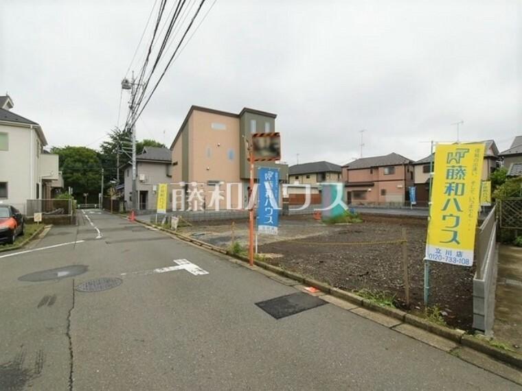 現況写真 接道状況および現場風景 【立川市栄町5丁目】