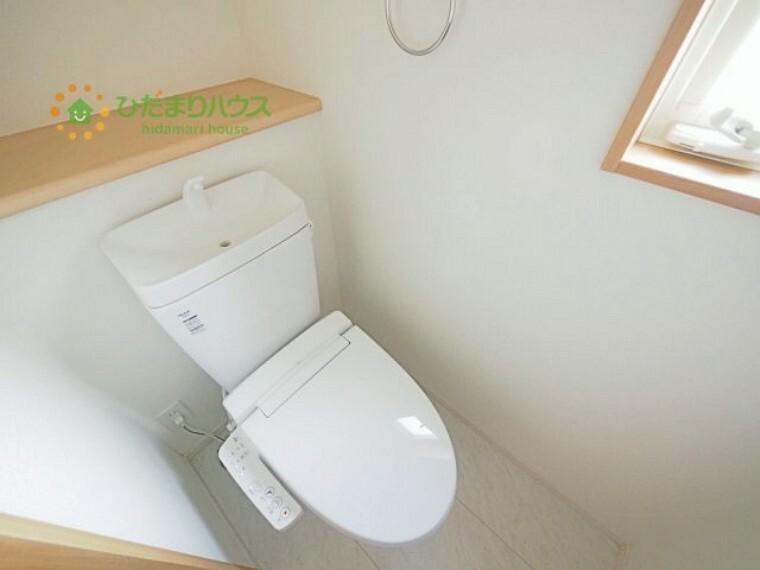 トイレ トイレは1F、2F共に完備!取り合いになることがありませんね(^^)/