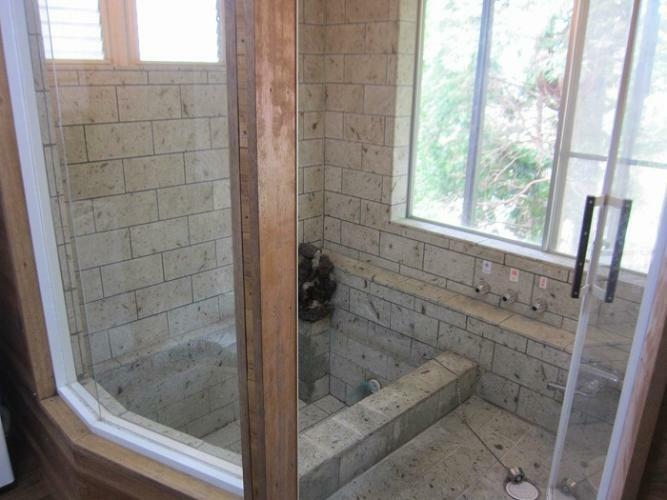 浴室 温泉入浴を満喫できる浴室