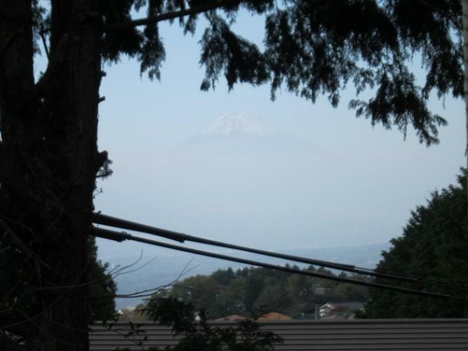 眺望 晴れた日には富士山を望められます