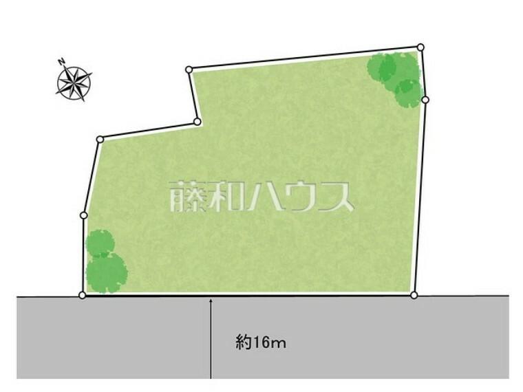 区画図 区画図 【世田谷区成城1丁目】