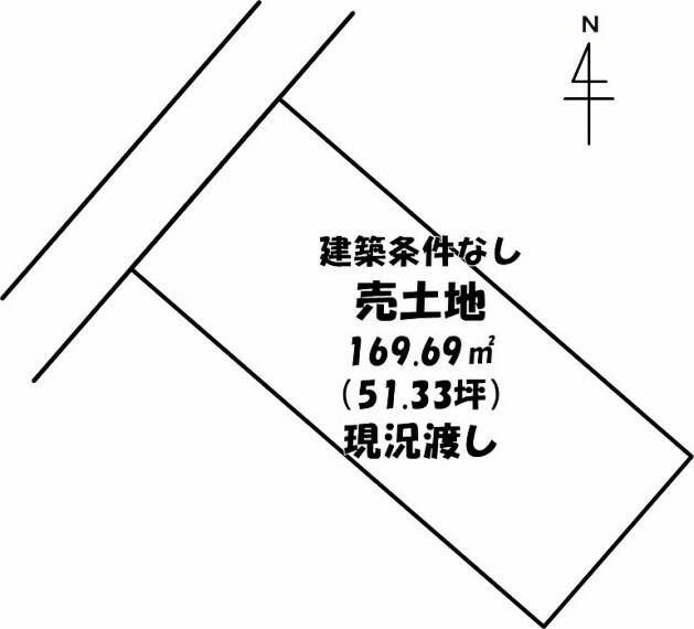 土地図面 令和2年6月撮影