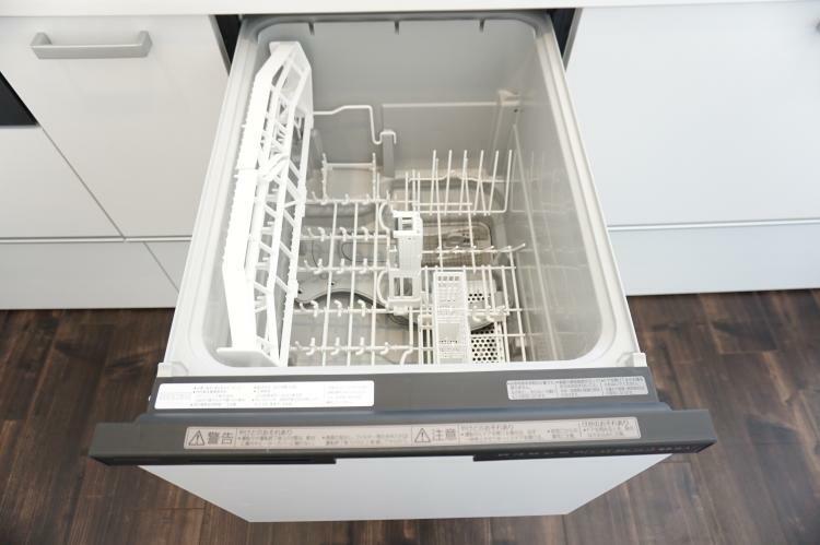 食洗機付き!家事の時短ができ、ご家族との時間が増えます。