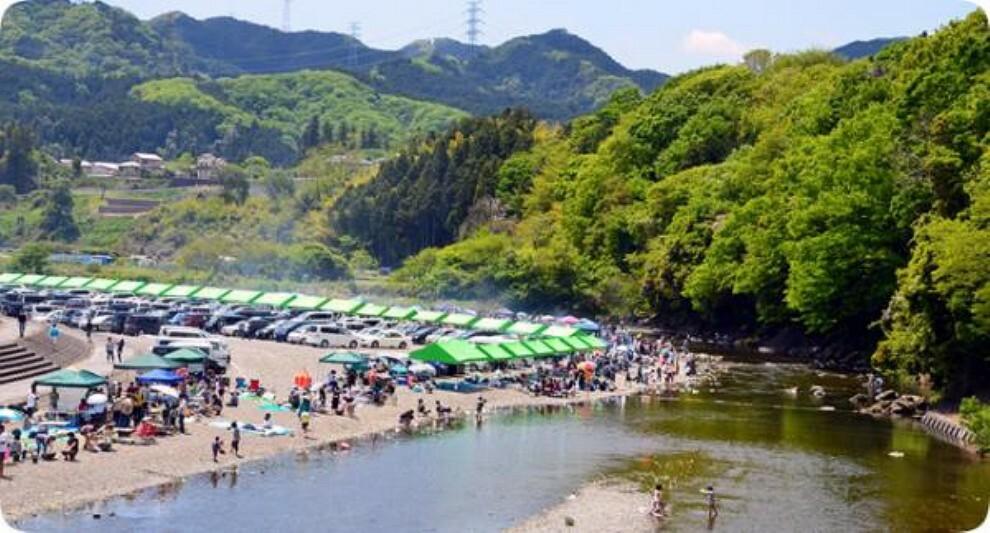 公園 秋川橋河川公園バーベキューランド