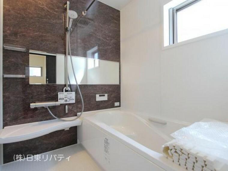 浴室 1616サイズのゆったりとした浴室で、一日の疲れをゆっくりと癒せます。